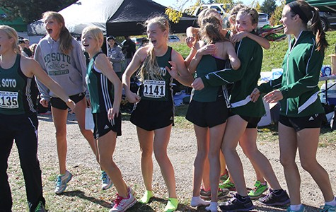 Girls' cross country closes season with State title