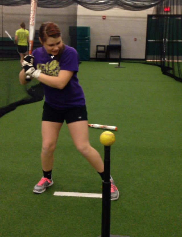 Ravenne King swings her way to a new softball season
