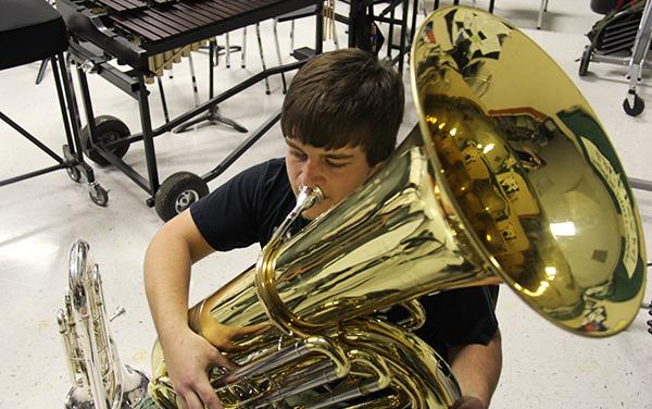 Band prepares to host Regional Solo and Ensemble competition