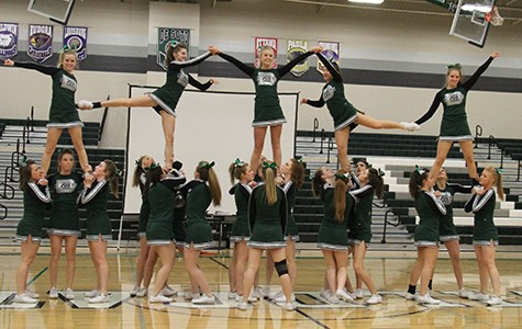 Cheerleading squad succeeds at competition