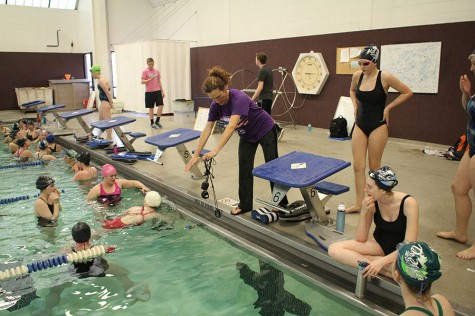 Girls swim finishes out season with successful trip to State