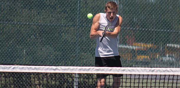 Senior balances League track, State tennis and graduation in the same weekend