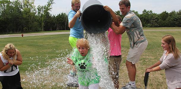 Copeland latest teacher to take the ALS challenge