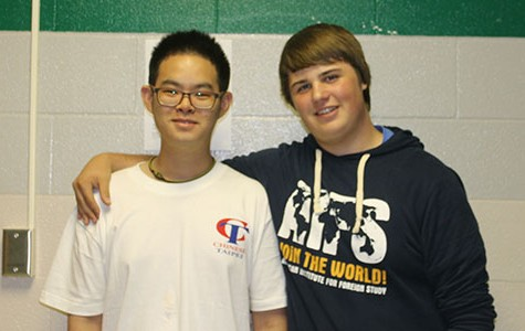 DHS welcomes foreign exchange students