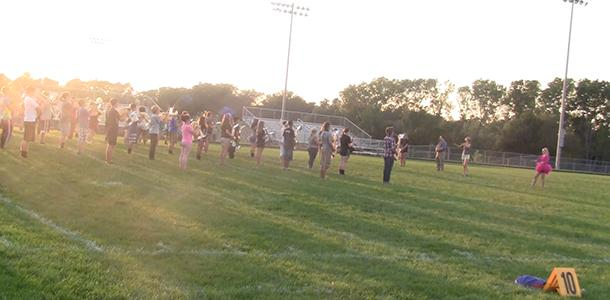 DHS band doing some