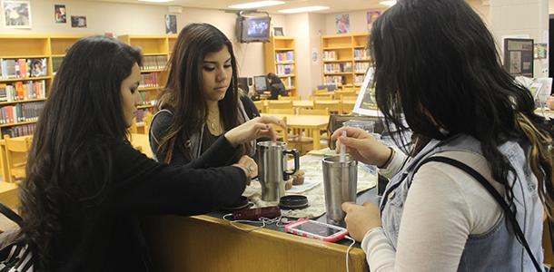 DHS library opens mini-café