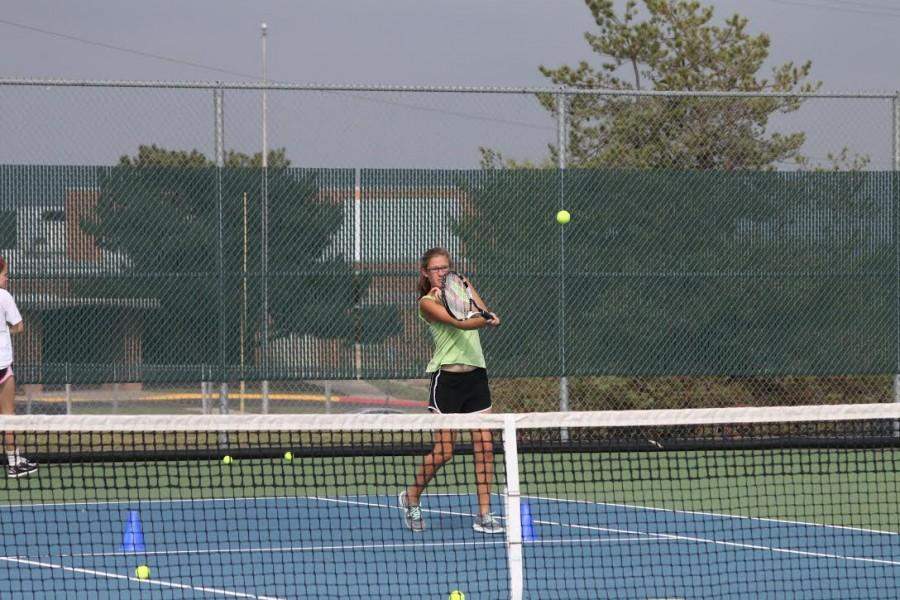 Girls' tennis sends three to State