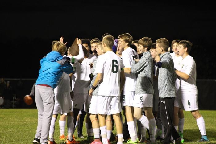Boys soccer wins Regional championship game