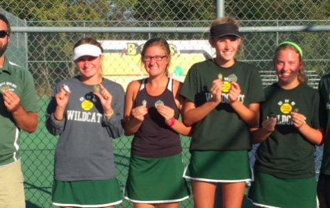 Girls' tennis takes first in Bonner Springs Invitational