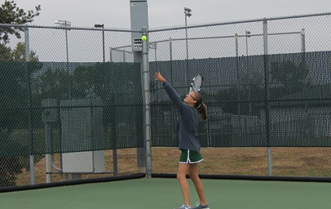Girls' tennis competes at State