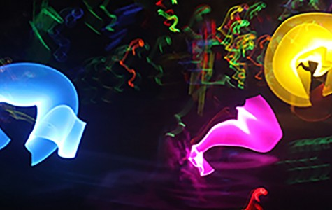 Band performs third annual glow show
