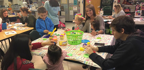 Human Growth and Development classes hold 'Toddler Day'