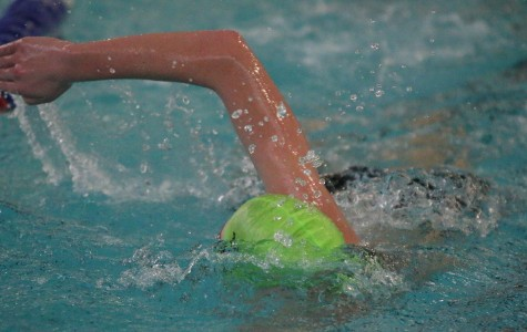 Boys' swim competes at Turner