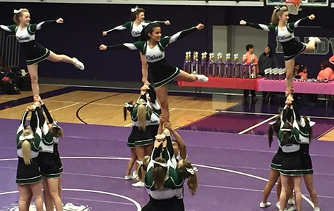 Cheer team goes to competition