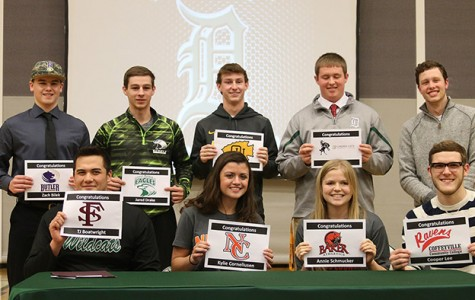 Nine commitments on signing day