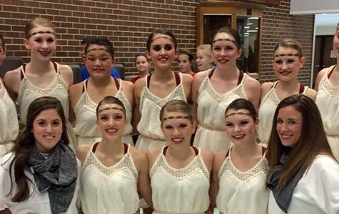 Diamonds Dance team places in winner's circle