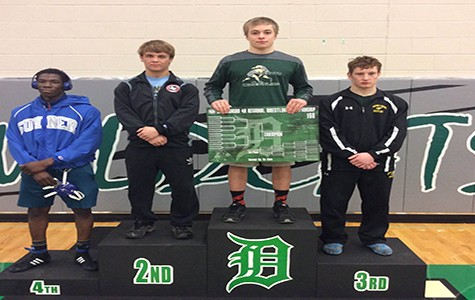 Three DHS students qualify for State wrestling tournament