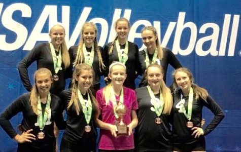 DHS volleyball players compete at nationals