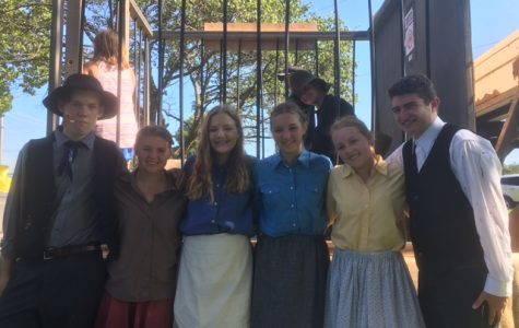 DHS drama students participate in Hatfields and McCoys re-enactment