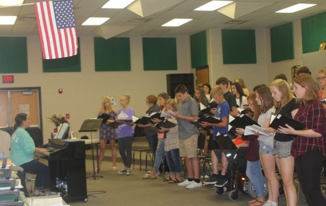 Mrs. Fry Takes Over as New Choir Director