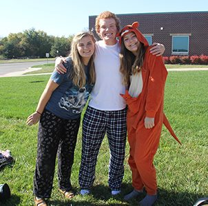 Students participate in spirit week