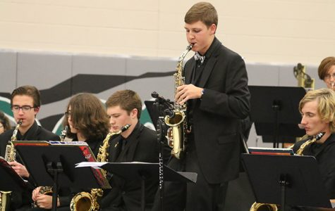Band and choir hold annual holiday concert