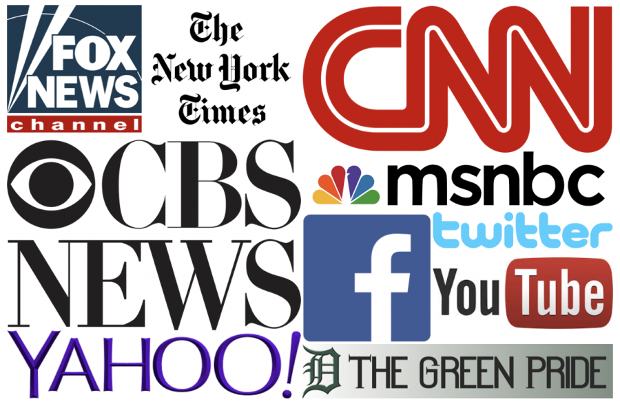 These common media sites and many others provide information and news for many people every day.
