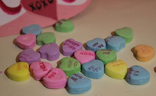 Candy hearts are a popular way of showing love to those you value most on Valentine's Day.