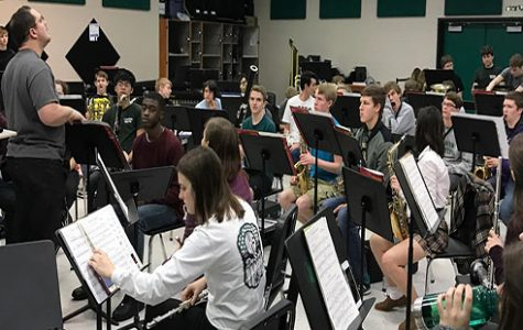 Band prepares for concert