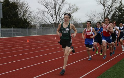 Track and field competes at first meet of the season