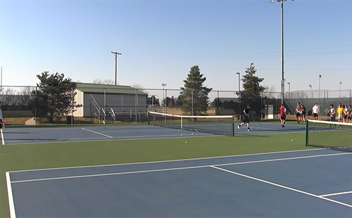 DHS boys' tennis ready for spring season