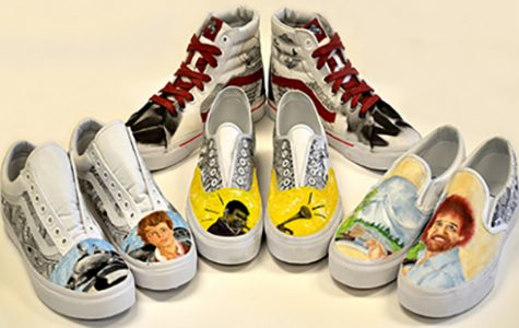 Art students design shoes for national contest