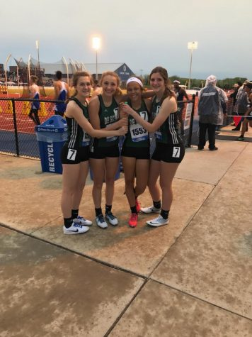 Track team competes at Kansas Relays