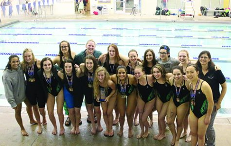 Girls' Swim team wins League