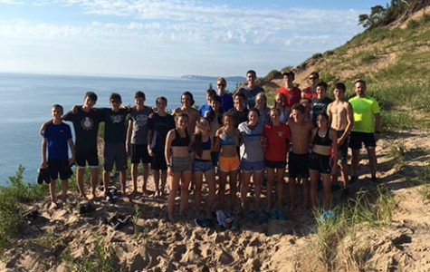 Cross country team goes up north for summer bonding trip
