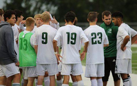 De Soto High School boys' varsity soccer kicks off two straight home wins