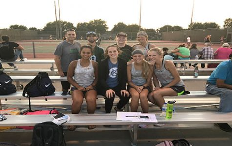 Girls' tennis succeeds in a tournament at Emporia