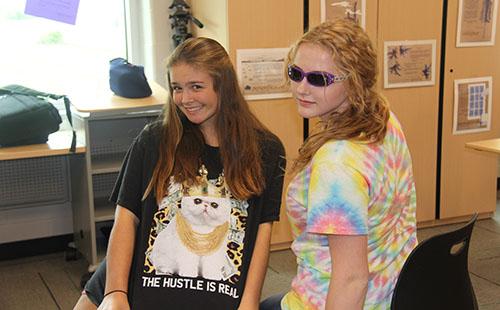 Students participate in Spirt Week. Photo by Issa Sullivan.