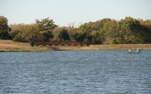 View of Lexington Lake at Lexington Lake Park