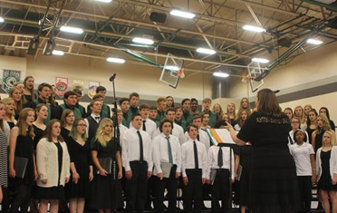 Choirs perform their first concert of the year