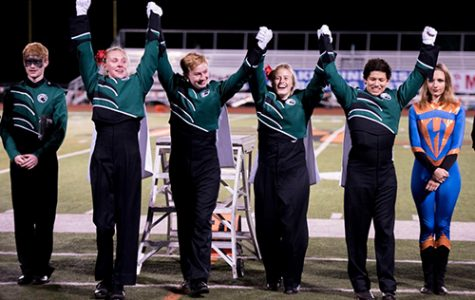 DHS marching band wins Baker third year in a row