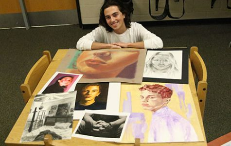 AP Art Students participate in National Portfolio Day