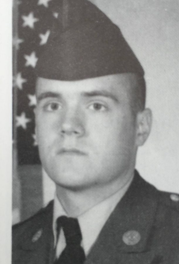 Private First Class Sullivan: basic training portrait from 1992