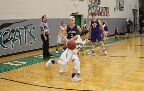 Girls' basketball beats Spring Hill