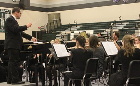 Students selected for District Honor Band