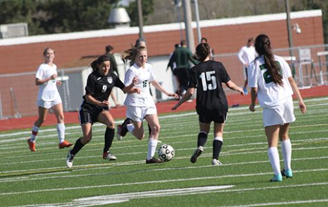 DHS girls' soccer beats Blue Valley Northwest
