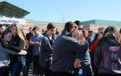 Students participate in gun control walkout