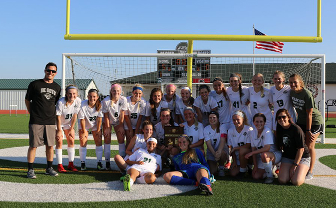 Girl's soccer captures first 5A regional championship