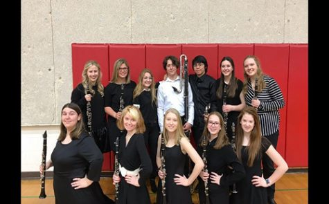 Choir participates in USD 232 Tenor/Bass Festival
