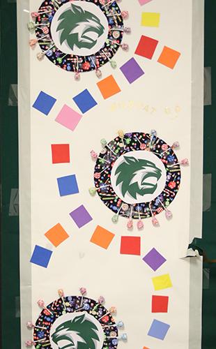The+door+of+art+teacher+Sheila+Wilkens.